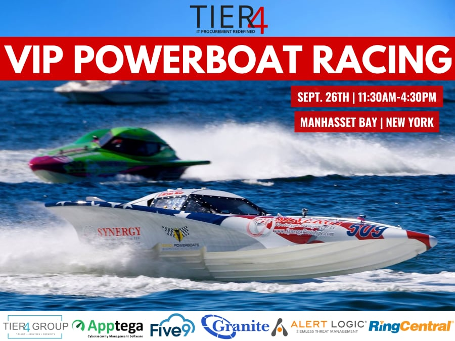 Tier4 Advisors | Ultimate Boat Racing Experience (NYC)